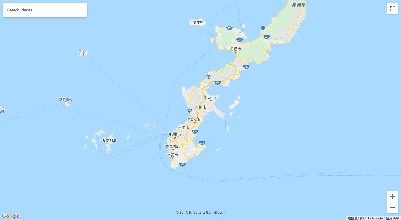 沖繩MAPCODE查詢教學-JAPAN MAPCODE