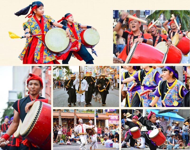 沖繩祭典、活動-一萬人EISA太鼓舞隊