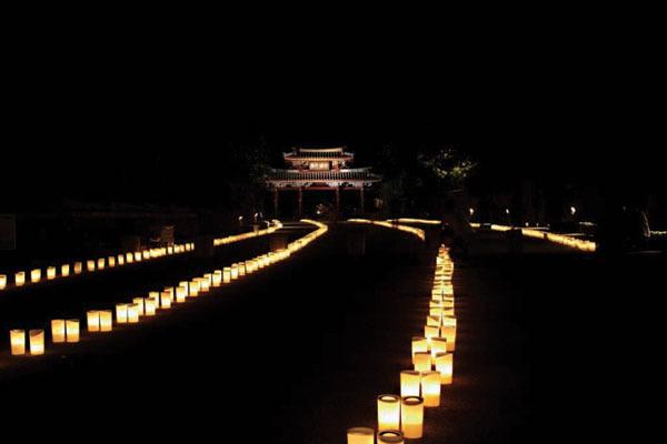 沖繩祭典、活動-首里城祭萬國津梁燈火