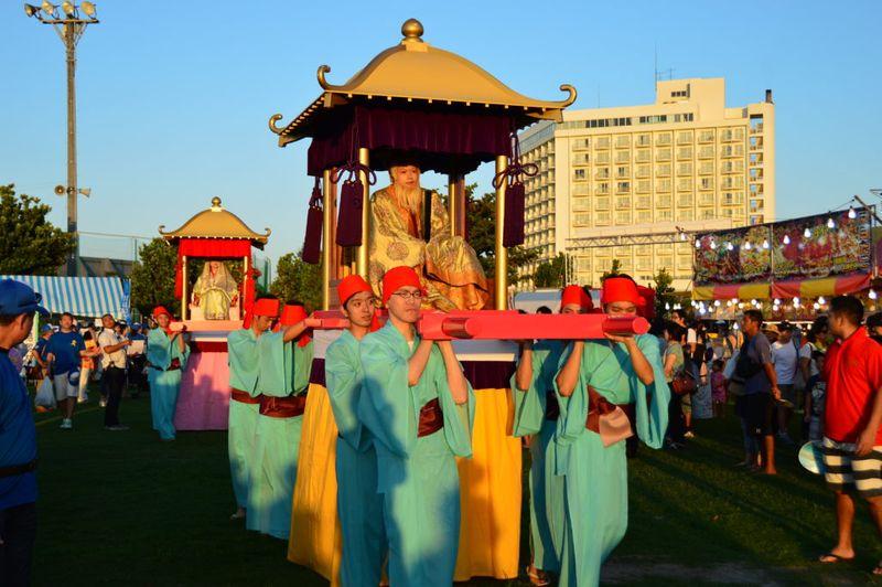 沖繩祭典、活動-宜野灣羽衣祭
