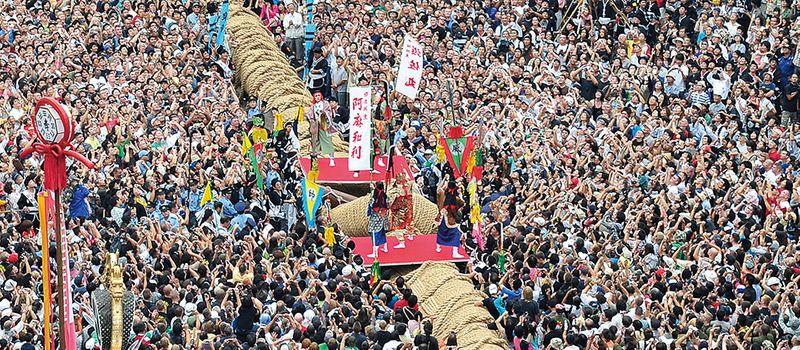 沖繩祭典、活動-那霸大拔河祭
