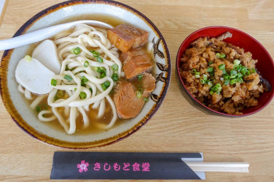 沖繩麵必吃推薦-きしもと食堂(岸本食堂)