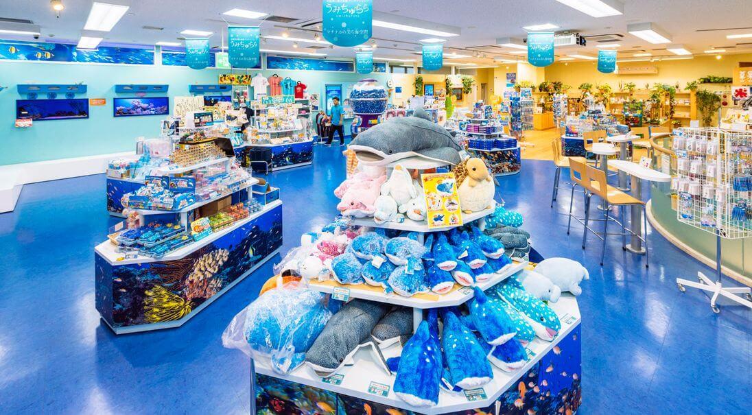 沖繩伴手禮推薦-美麗海水族館周邊商品