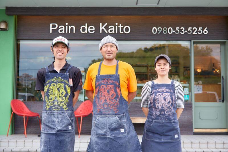 沖繩麵包店推薦-Pain de Kaito 名護本店