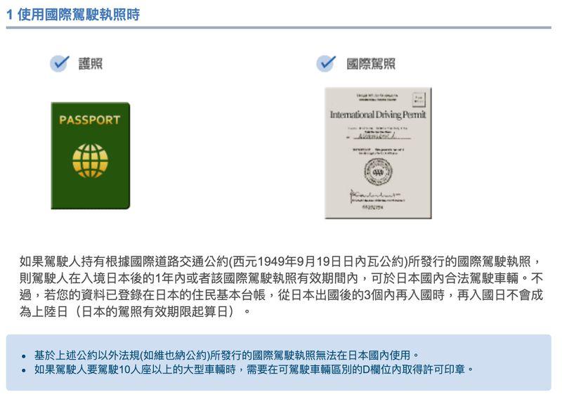 香港人日本沖繩租車需準備什麼?租車三寶
