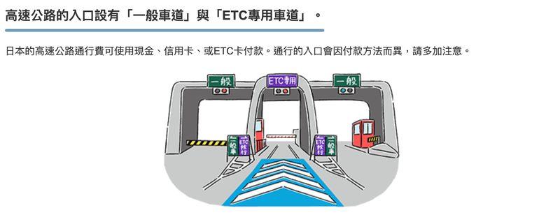 日本沖繩租車注意事項-高速公路收費站