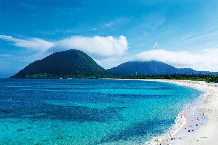 沖繩離島-伊平屋島-米崎海灘