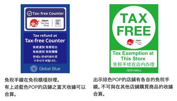 AEON MALL永旺夢樂城沖繩來客夢-退稅資訊