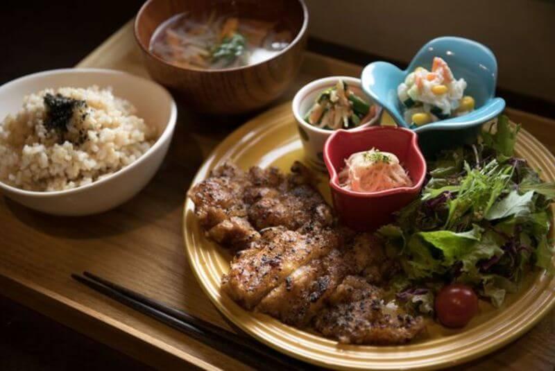 沖繩素食餐廳-那霸市-楽ロビkitchen.
