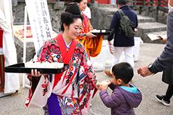 首里城公園-新春之宴-茶水、甜酒招待儀式