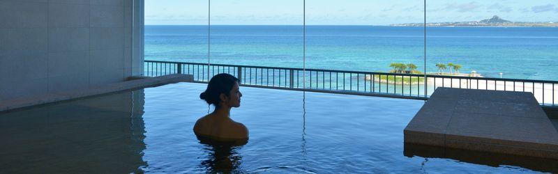 沖繩溫泉-Orion本部度假SPA飯店|美ら海の湯