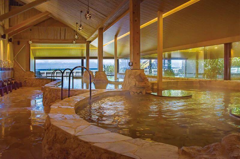 沖繩溫泉-谷茶灣Rizzan海洋公園飯店|浜の湯