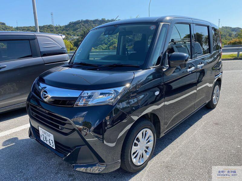 沖繩ORIX租車-DAIHATSU大發汽車-Tanto