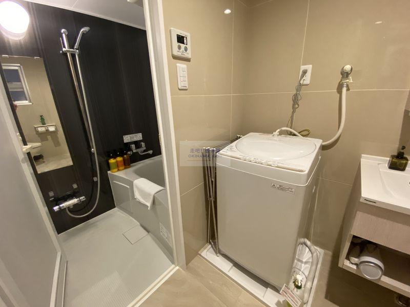 Wisteria公寓度假村-衛浴空間、洗衣機