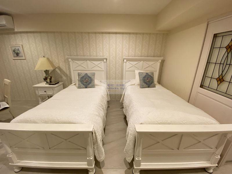 Wisteria公寓度假村-兩張單人床