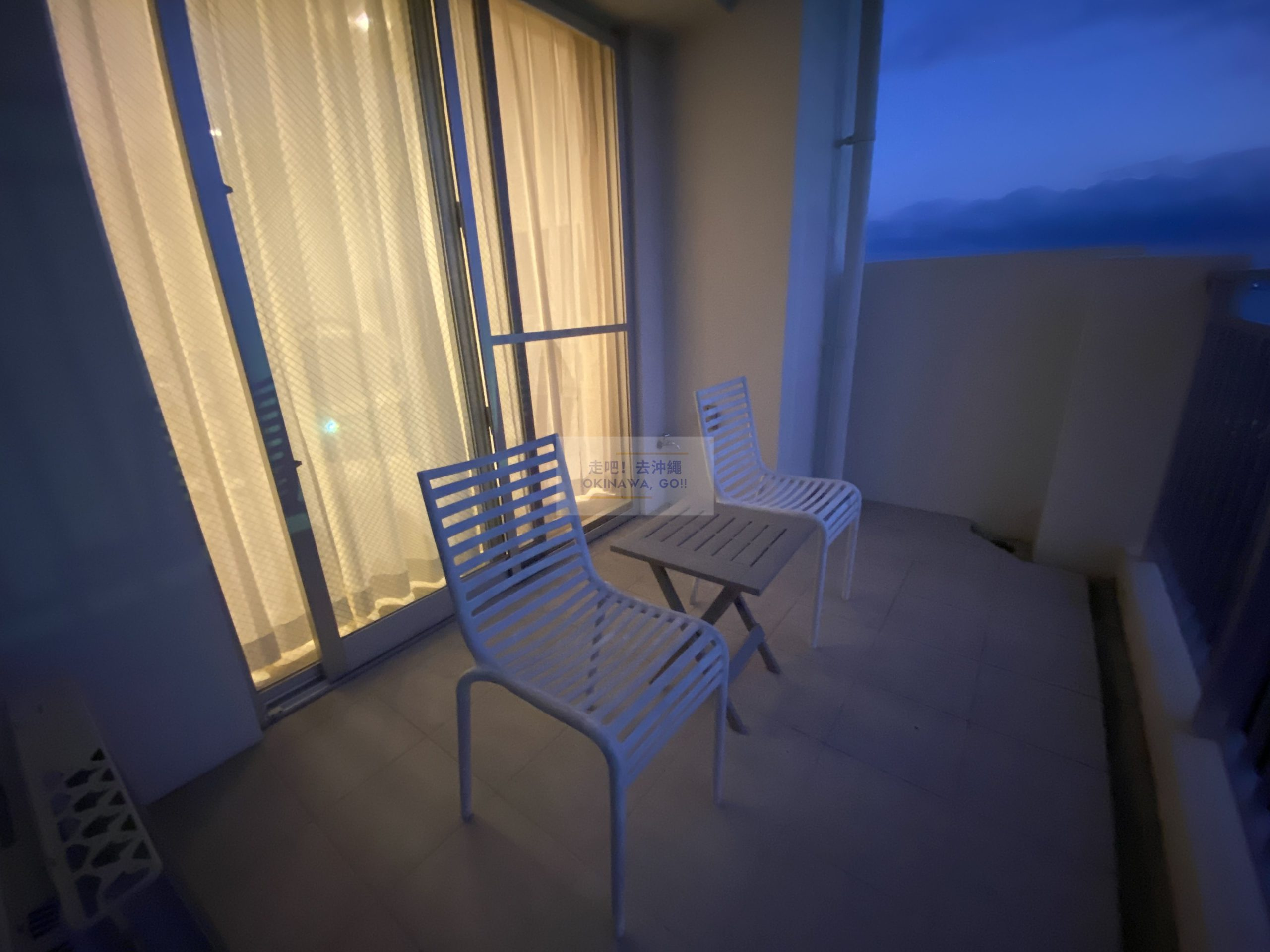 Wisteria公寓度假村-海景陽台