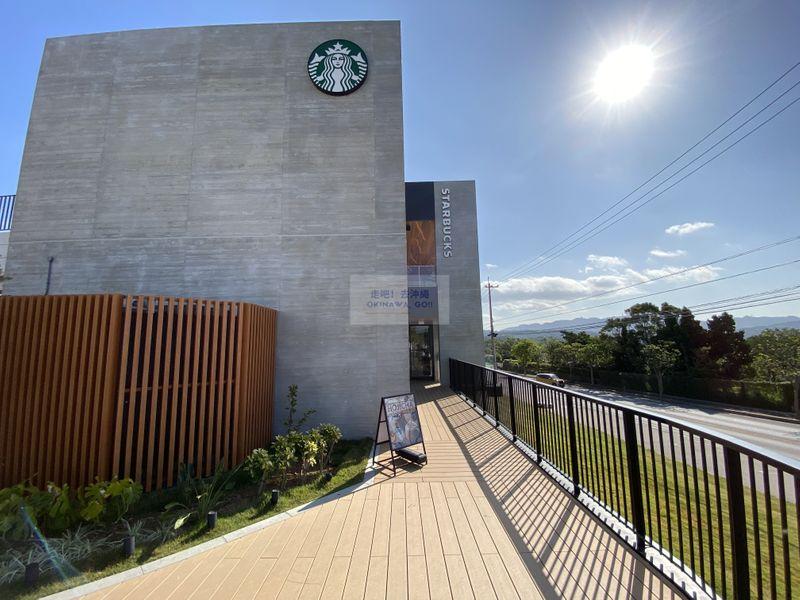 沖繩行程分享-沖繩最美星巴克