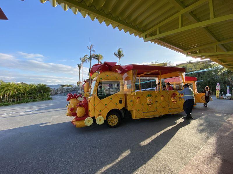 沖繩行程分享-名護鳳梨園
