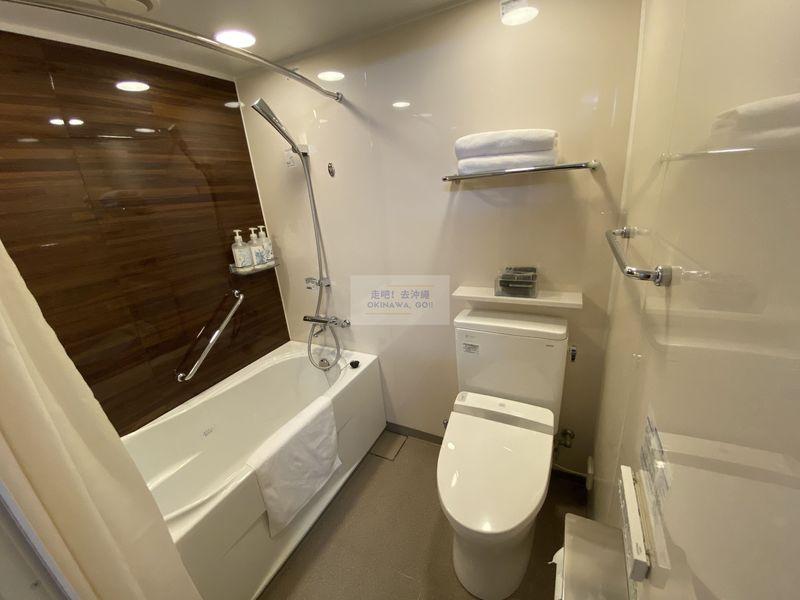 Vessel Hotel Campana Okinawa飯店開箱評價-衛浴空間