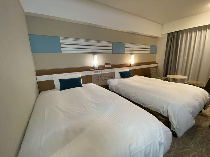 Vessel Hotel Campana Okinawa-床鋪