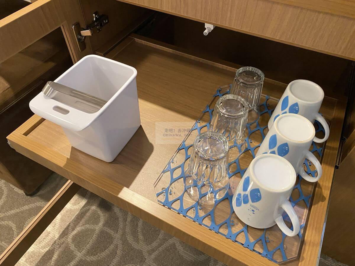 Vessel Hotel Campana Okinawa飯店開箱評價-杯子