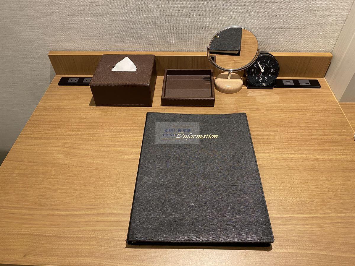 Vessel Hotel Campana Okinawa飯店開箱評價-辦公桌