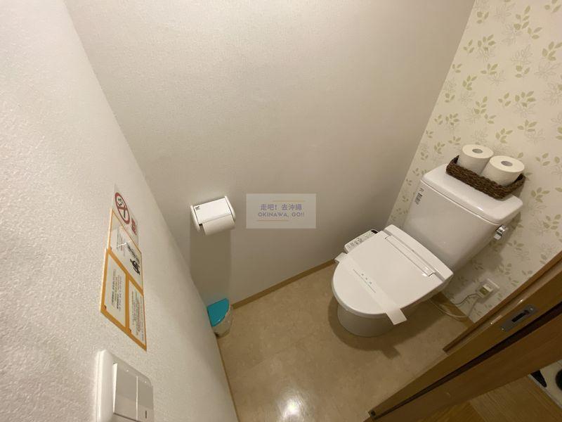 宇宙歌町站公寓-廁所