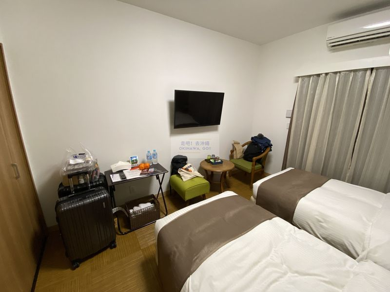 宇宙歌町站公寓-臥室