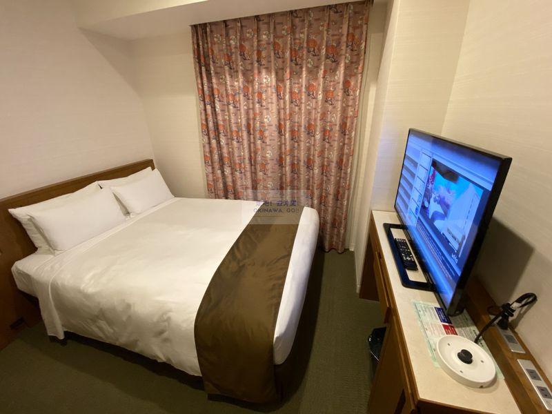 Hotel Gracery Naha 那霸格拉斯麗飯店-床、電視櫃
