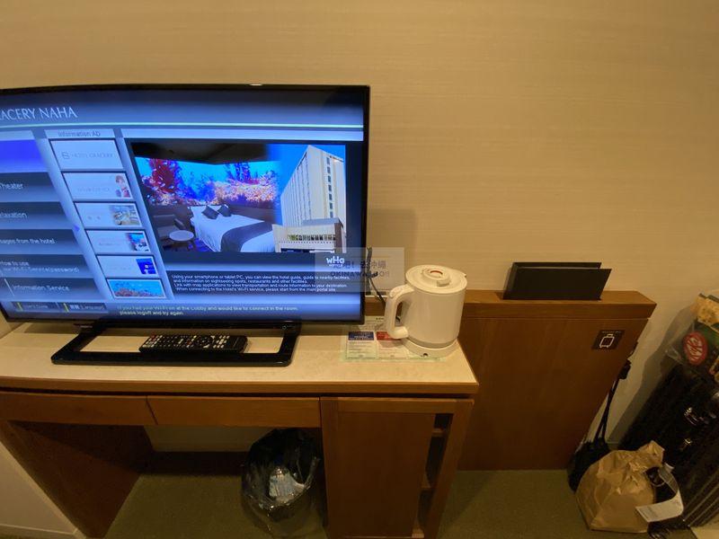 Hotel Gracery Naha 那霸格拉斯麗飯店-電視櫃