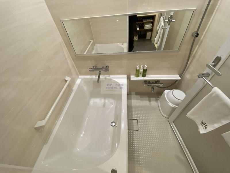 Hotel Gracery Naha 那霸格拉斯麗飯店-浴室