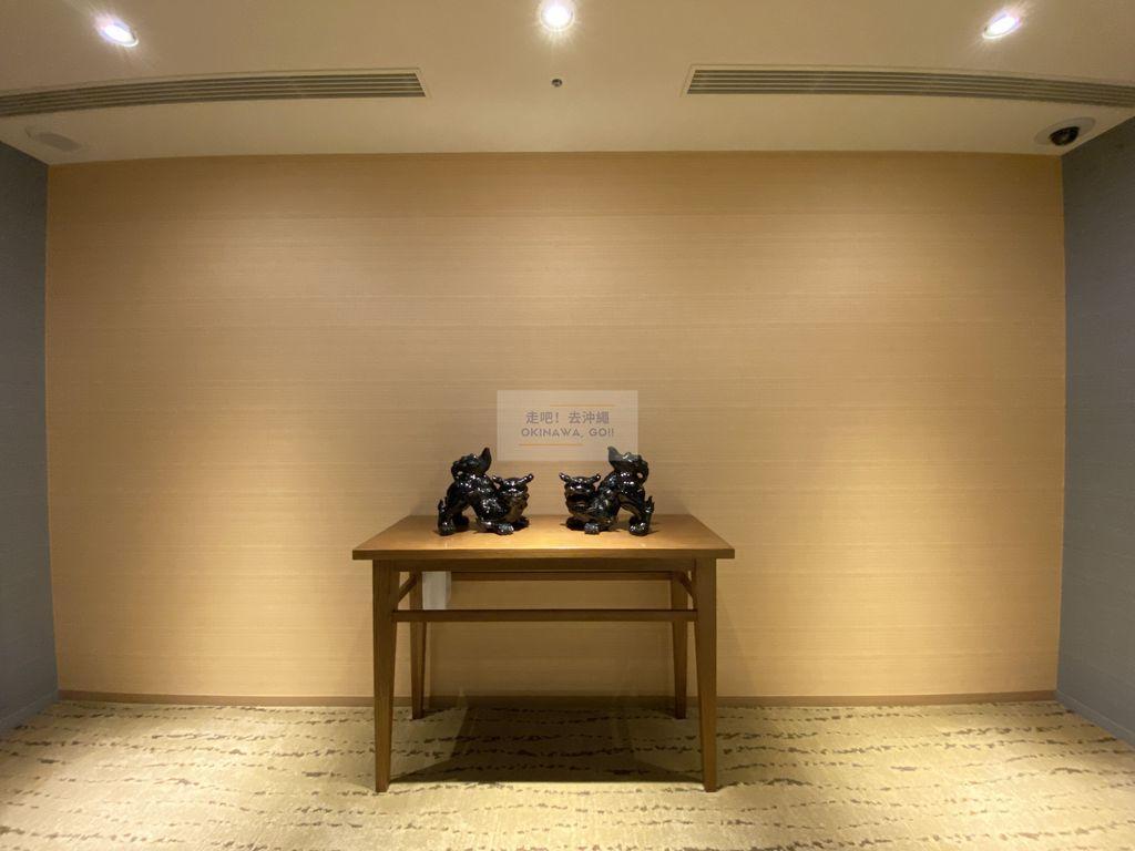Hotel Gracery Naha 那霸格拉斯麗飯店-電梯外風獅爺
