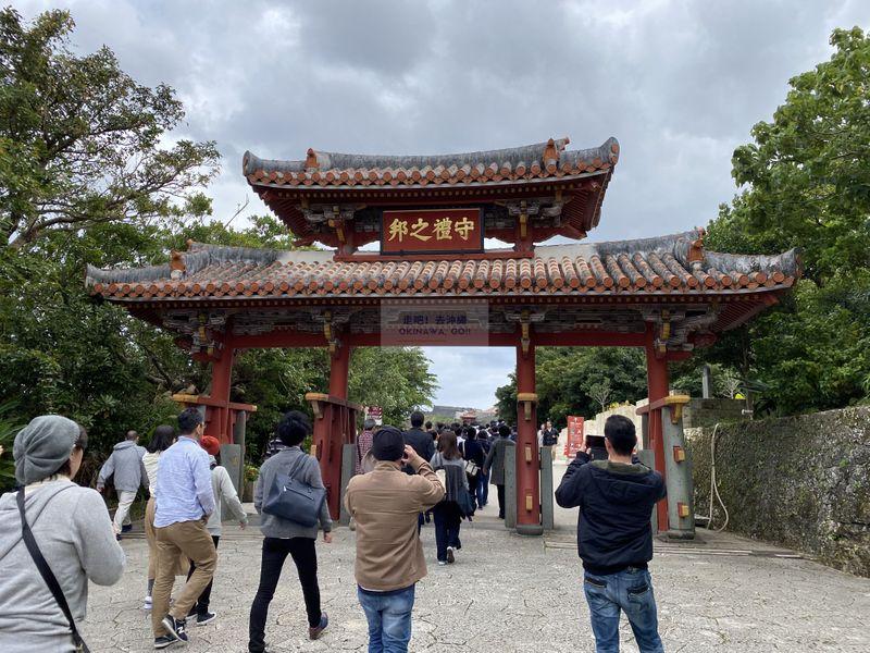 沖繩行程分享-首里城公園