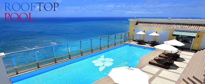 Vessel Hotel Campana Okinawa-頂樓露天游泳池