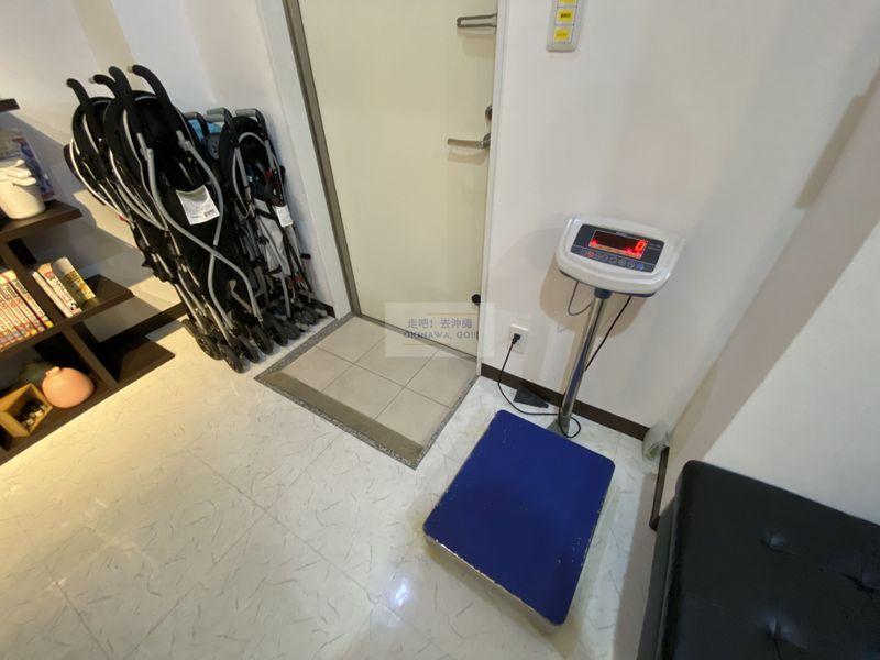 宇宙歌町站公寓-前台附設行李秤重