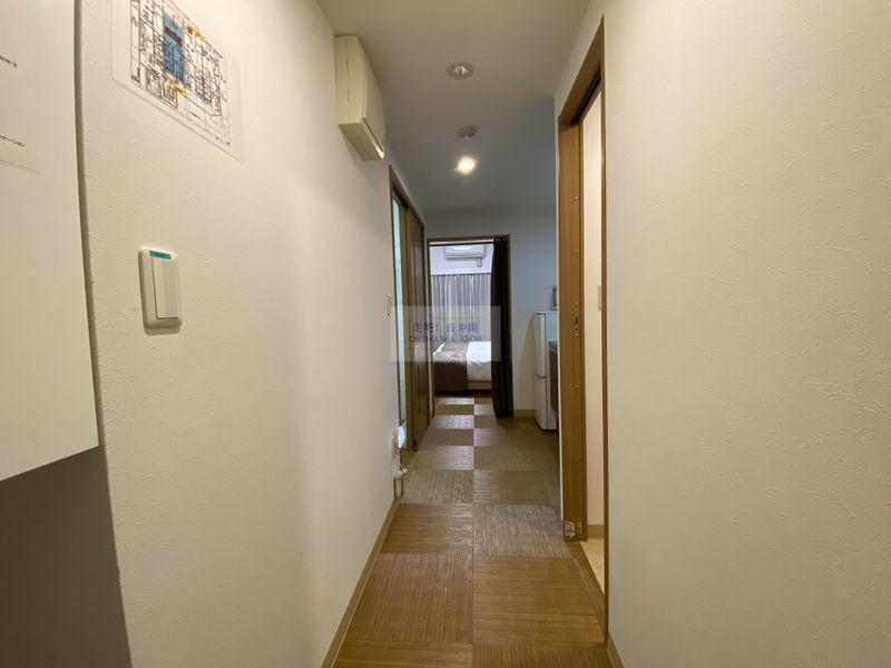 宇宙歌町站公寓-玄關