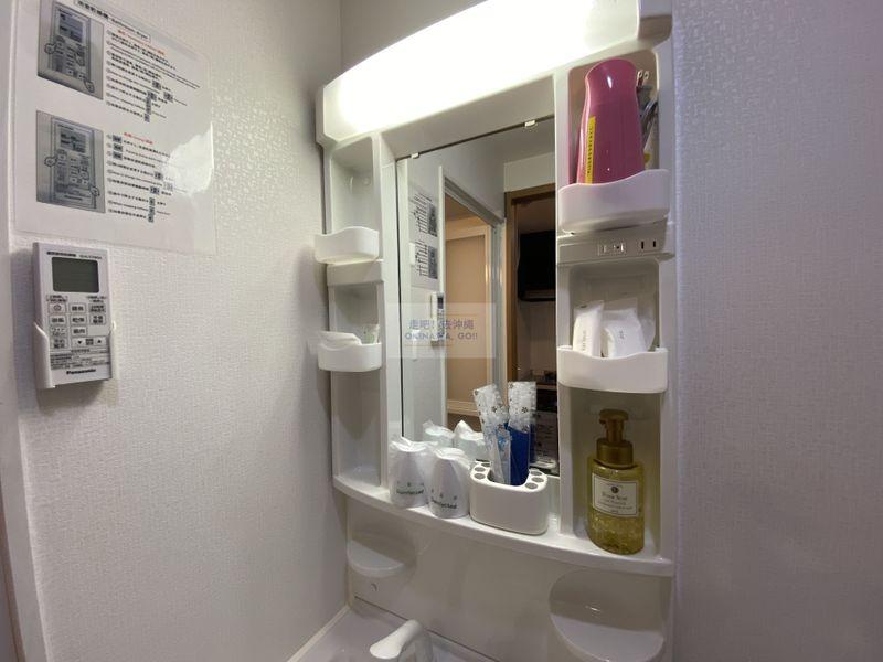 宇宙歌町站公寓-洗手台