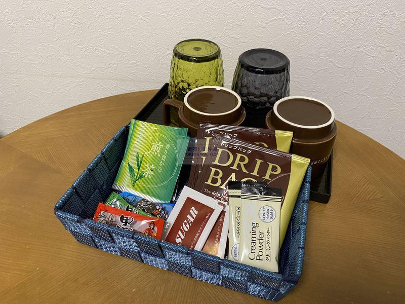 宇宙歌町站公寓-提供小點心、茶包、咖啡